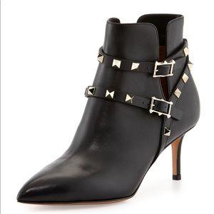 Valentino kitten heel boots